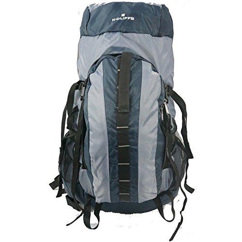 Oversize Internal Frame Pack (K Cliffs Internal Frame Hiking Pack Scout Camping Backpack Large Daypack Nvy)