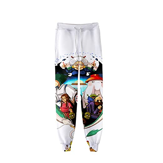 HXPainting Pantalones De Chándal Casuales 3D Impresión Spirited ...