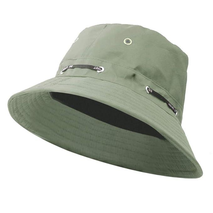 VECOLE Fischerhut Unisex Summer Outdoor Sonnenschutz Sonnenhut Faltbare verstellbare UV Schutz
