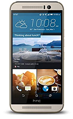 HTC One M9 - 32GB Verizon + GSM Unlocked Android Smartphone (Certified Refurbished)