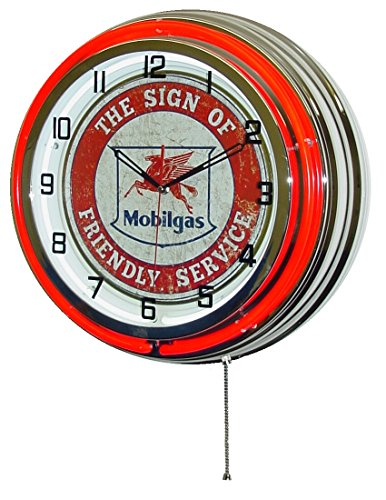 Fade Hardware Red Chrome - MOBILGAS FLYING PEGASUS 18