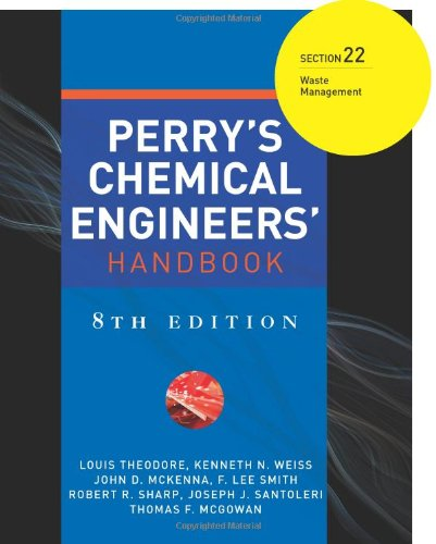 Perry's Chemical Engineers' Handbook 8/E Section 22:Waste Management