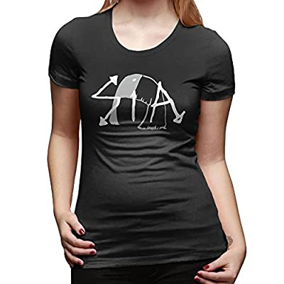 Sia The Greatest Logo T Shirts For Women Black