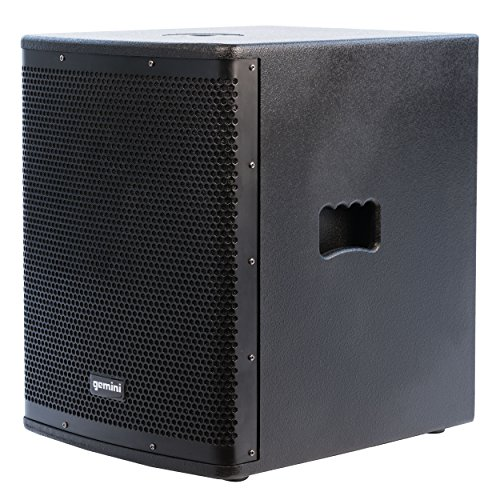 Gemini ZRX Series ZRX-S15P 15-inch Professional Powered Subwoofer with 1,200 Watts Continuous Class D Digital Power