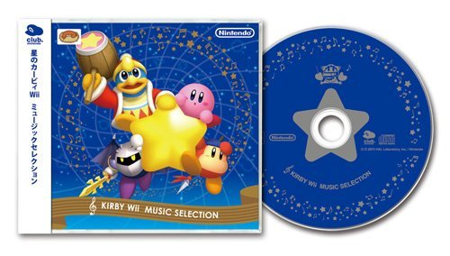 Kirby wii music selection of star (japan import)
