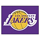Fanmats 19448 33.75''x42.5'' Team Color NBA - Los Angeles Lakers All-Star Mat