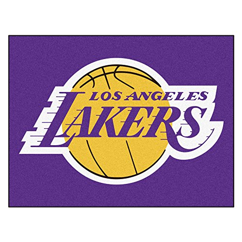 Fanmats 19448 33.75''x42.5'' Team Color NBA - Los Angeles Lakers All-Star Mat by Fanmats