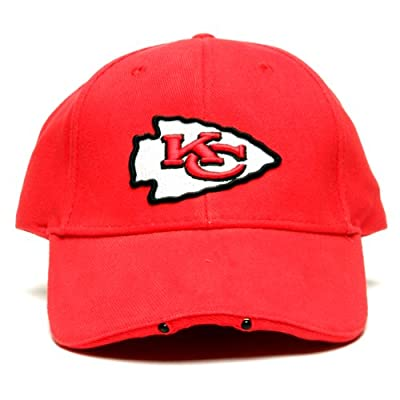 NFL Kansas City Chiefs Dual LED Headlight Adjustable Hat by Lightwear