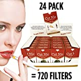 Cut-Nic 4 HOLE Disposable Cigarette Filters 24 Packs (Total 720 Filters) In Display Box