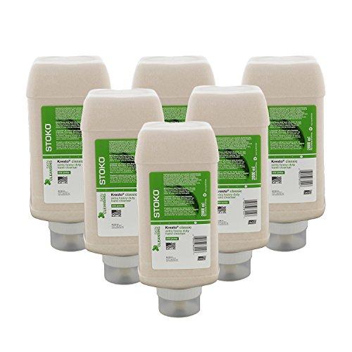 Stoko 98704406 Kresto® Extra Heavy Duty Cleanser, 2,000ml One-Pump Bottle, 6/Case ()