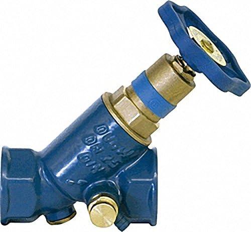 SCHL/ÖSSER Blue-t Schr/ägsitzventil DN20-3-4 nichtsteigende Spindel KFR IG x IG-mit Entleerung