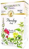 Celebration Herbals Organic Parsley Leaf Tea Caffeine Free, 24 Herbal Bags