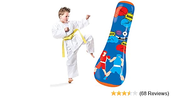 Amazon.com : Hoovy Inflatable Punching Bag for Kids: Free ...