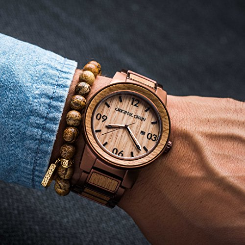 Original Grain Wood Wrist Watch Barrel Collectionog
