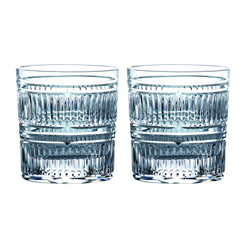 Royal Doulton Glass Highball Glass (Royal Doulton 40032733 Radial Tumbler Glasses, 9.8 ounces, Clear)