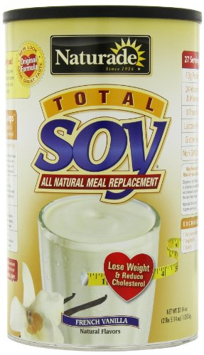Naturade Total Soy Meal Replacement, French Vanilla , 37.14 oz 2 lb 5.14 oz 1053 g