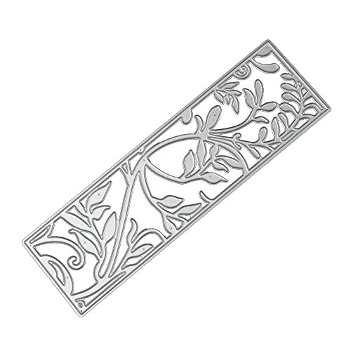 (FORUU Die Cut, Metal Cutting Dies Stencils Scrapbooking Embossing Mould Templates Handicrafts DIY Card Making Paper Cards Best Gift Album Craft J)