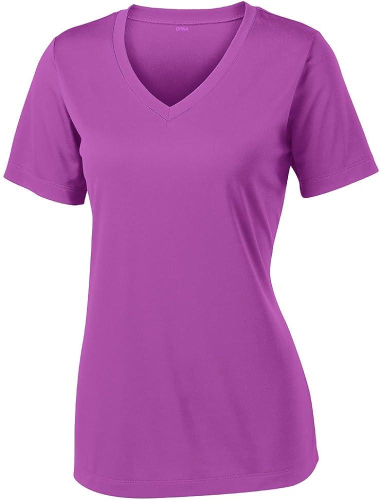 Opna Women's Short Sleeve Moisture Wicking Athletic Shirts Sizes XS-4XL