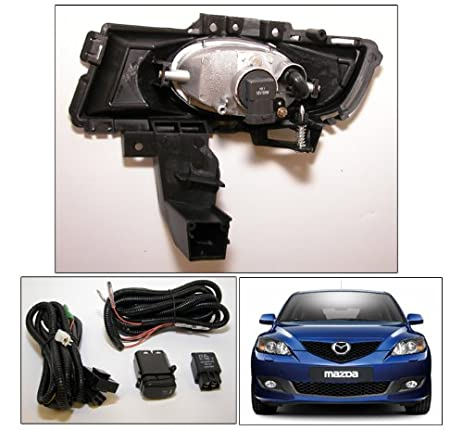 518IZ5KzYkL._SX463_ amazon com 2007 2009 mazda 3 sedan 4 door cl fog light lamp Mazda 3 Headlight Replacement Diagram at soozxer.org