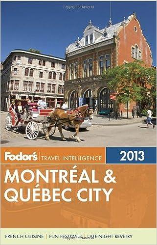 Ebooks para descargar gratisFodor's Montreal & Quebec City 2013 (Full-color Travel Guide) 089141939X (Spanish Edition) PDF