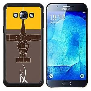 Stuss Case / Funda Carcasa protectora - Diseño abstracto - Samsung Galaxy A8 A8000