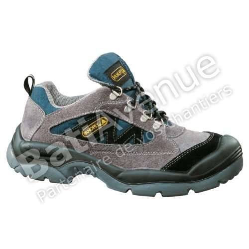 1f15144a7f3 Delta Plus Panoply Mazan S1P Grey Suede Wide Fit Mens Steel Toe Safety  Trainers