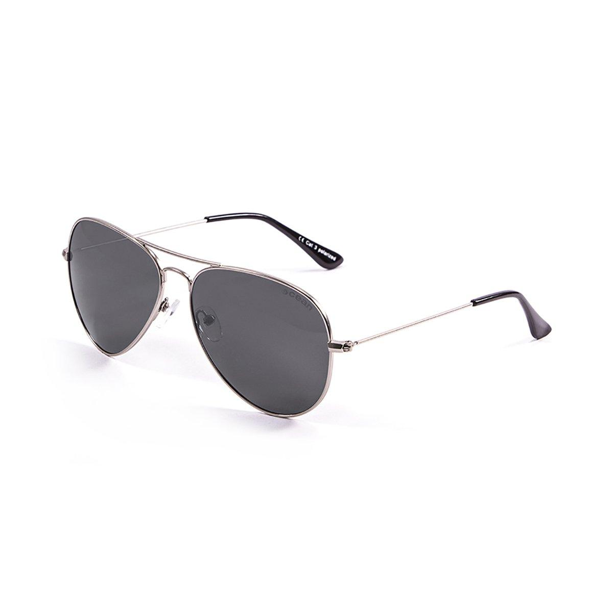 Ocean Sunglasses Banila aviator - lunettes de soleil en Métal - Monture : Argent - Verres : Fumée (18110.2) vJVHoO