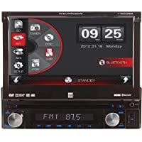 Dual Electronics XDVD110BT 7 Touchscreen AV CD/DVD Receiver with Bluetooth