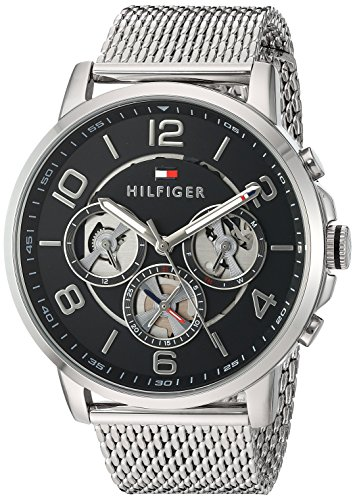 Tommy Hilfiger Men s Quartz Stainless Steel Watch, Color Silver-Toned Model 1791292