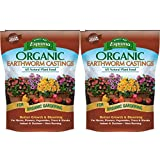 Espoma 839293 Ec4 Organic Earthworm Castings, 4 Quart Pack of 2