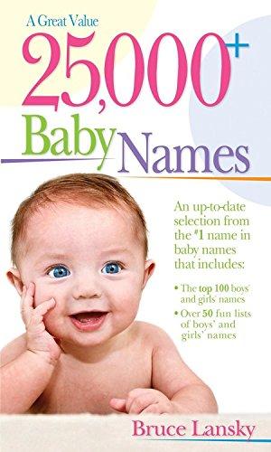 000 Baby Names Bruce Lansky product image