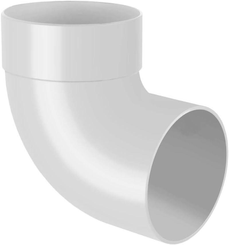 Rohrabzweig 67/° RainWay90 Anthracite S/él/éction Composants 130mm Plastique PVC Regenrinnensystem