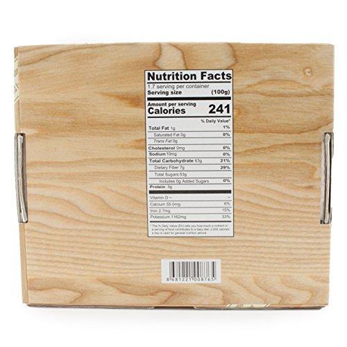 Premium Organic Dried Apricots | Raw, Non GMO, Vegan, Vegetarian, Unsulfured, Sun Dried Fruit, Turkish Apricots, No Sugar Added, Gift Box 100g by Avicenna BIO Food (Image #6)'
