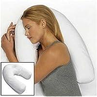 Bluelover U-Form Pp Baumwolle Weiße Kissen Seite Sleeper Kopfstütze Reisen Anti-Schnarch Kissen