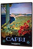Tin Sign XXL Holiday Travel Agency Capri