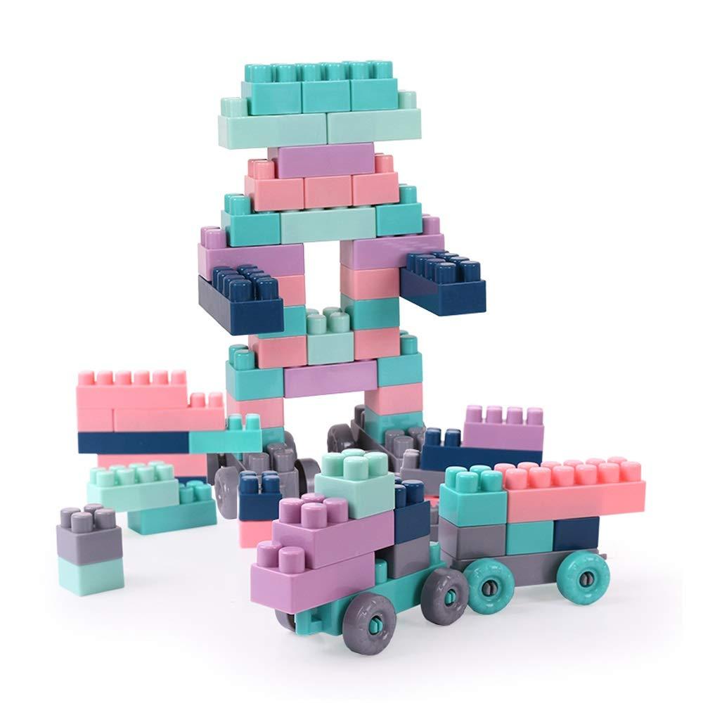 Xiao Jian- 200 Stücke von montierten Bausteinen - Kinderspielzeug dreidimensionale zusammengebaute Plastikspielzeug Baby-Lernspielzeug Intelligentes Spielzeug B07NV9BR7G Bauklötze & Bausteine Ausgezeichnete Leistung | Sehr gelobt und vom Publikum der