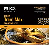 RIO Fly Fishing Fly Line Skagit Trout 250gr Fishing Line, Teal/Orange