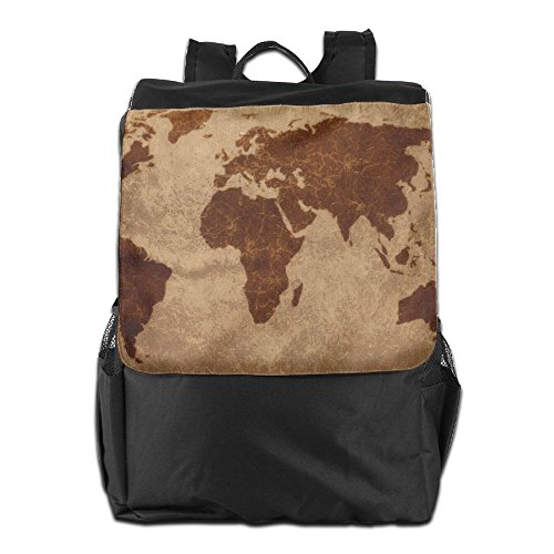 Szyymm unisex vintage world map travel backpack100 polyester szyymm unisex vintage world map travel backpack100 polyesterresist dirty waterproof adjustable shoulder bagfor traveloutdoor sportscampingbussiness gumiabroncs Images