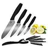 Revolution Pro-Elite 9pc Ceramic Knife Set & Peeler For Sale