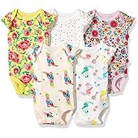 Rosie Pope Baby 5 Pack Bodysuit, Pink, 0-3 Months