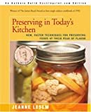 Preserving in Today's Kitchen, Jeanne Lesem, 0595388132