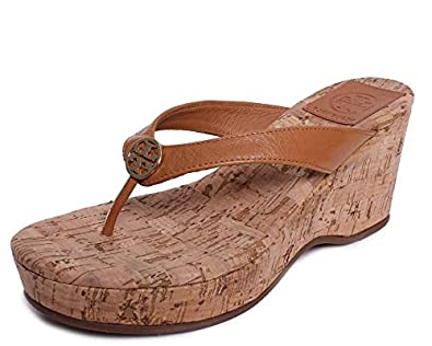 cb4cca8a4 Image Unavailable. Image not available for. Color  Tory Burch Flip Flop  Suzy Cork ...