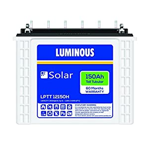 Luminous LPTT12150H 150Ah Tall Tubular Solar Battery
