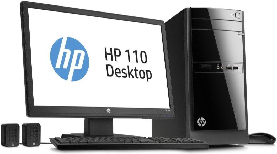 amazon com hp 110 243wb desktop computers accessories rh amazon com hp desktop white hp desktop tower