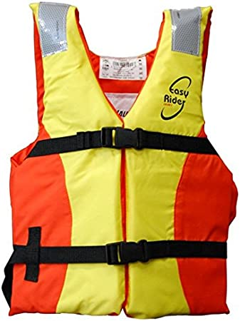 Lalizas Easy Rider Ayuda de Flotabilidad, Unisex niños, Naranja/Amarillo, 25-40 kg
