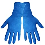 Global Glove 605PF Nitrile Medical Grade Glove, Exam, Powder Free, 6 mils Thick, 12'' Length, Large (Case of 1000)