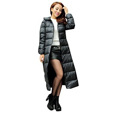Amazon.com: Aileen88 Women&39s Slim Winter Full Length Long Hooded