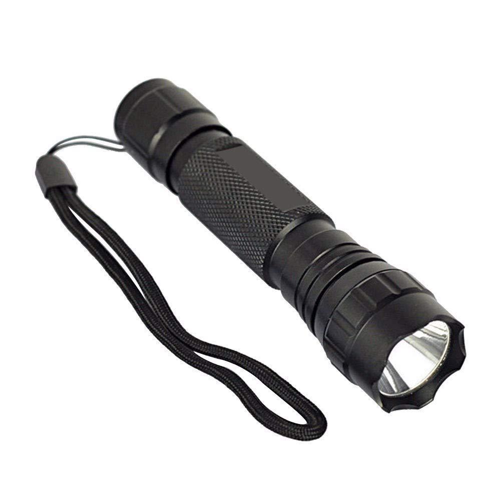 POLPqeD Linterna de UV WF-501B LED 365NM Ultra Violeta Blacklight Linterna Antorcha 18650 Lá mpara de luz Linterna LED Impermeable Faroles de Mano Super Brillante Luces linternas de acampada marcha