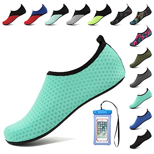 Women Barefoot Swim Aqua Coolloog Dry Light Blue Shoes Water for Yoga Surf Quick Beach for Men Socks qT6HT