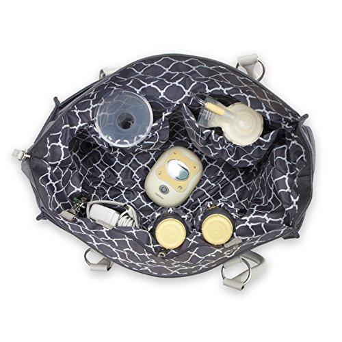 Bananafish Charlotte Electric Breast Pump Tote Bag